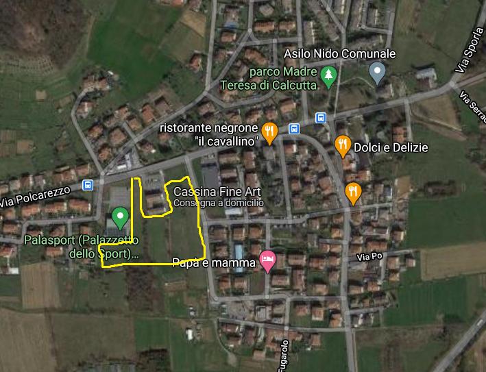Nuova area pubblica per verde e sport: il Comune acquista 15 mila mq